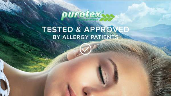 Tested & approved by allergy patients