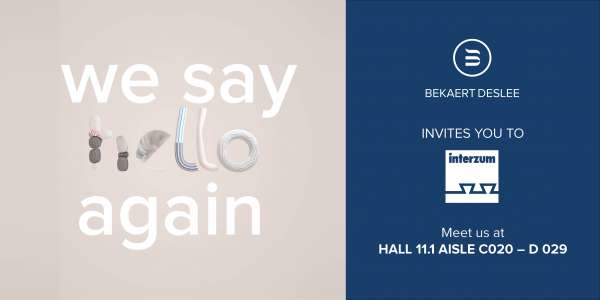 We say hello @ interzum